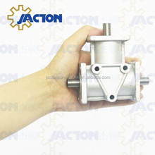 Precision JTA10 Crown Gear Drives 90 Degree Small Right Angle Gearbox Aluminium Bevel Gearbox