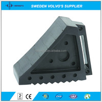 Heavy Duty Solid Rubber Truck Wheel Chock