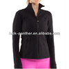 New black fashion fitness women sport yoga wear jacket