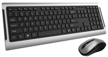 Hipoint wireless deluxe slim UK multimedia keyboard and mouse set