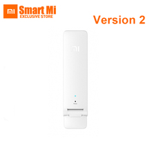 Update New Version Two mi Mi Wireless Wifi Amplifier 2 300Mbps Repeater2 Extender Portable Mini Router Wi-Fi Expander Signal