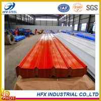 High Quality Waved/Trapezoid/Glazed Color Galvanized Corrugated Steel Roofing Sheet