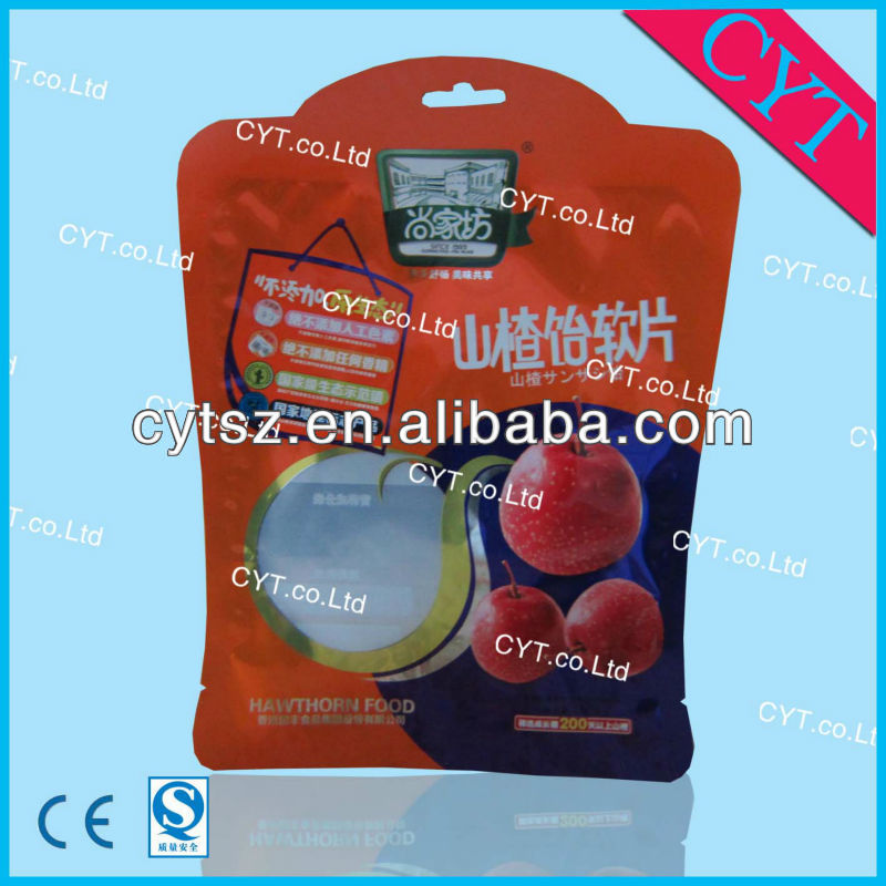 packaging type plastic bags/ Snack food packaging bag