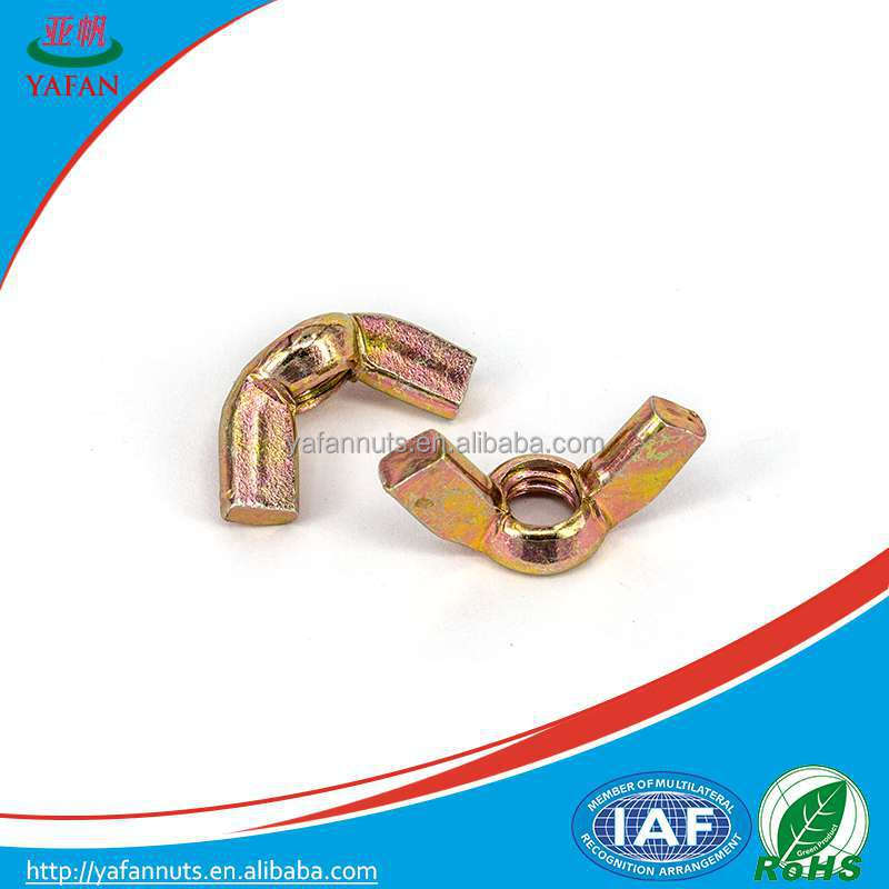 butterfly wings nut thread insert / wing nuts fasteners importers