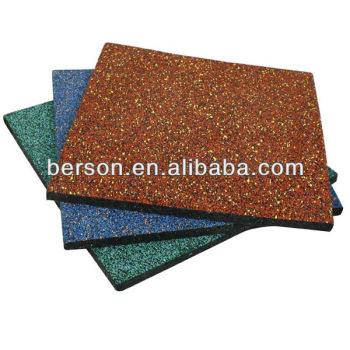 playground rubber tiles/playground Rubber Flooring/park rubber flooring