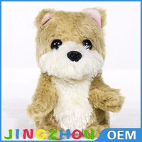 High quality plush toys stuffed animals with sound, plush toy recordable sound for sale