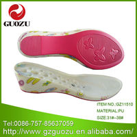 Cork Girls Wedge Soles Pu Resin