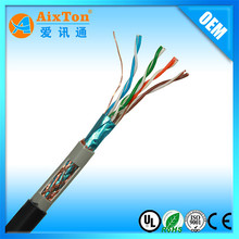 24AWG 0.51mm Ethernet Cable sftp cable cat5e network cable braided
