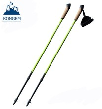Popular cork handle nordic walking stick for scandinavian walking
