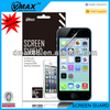 For iPhone 5c anti glare screen protector oem/odm(High Clear)