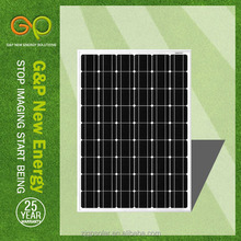 high efficiency best price solar panel with gaas solar cell