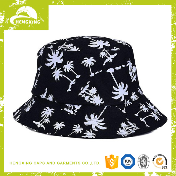 Men Summer Australian Cheap Custom Printed Bucket Hats