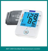 AOEOM Family and Personal Care 3 Color Backlight Digital Blood Pressure Meter