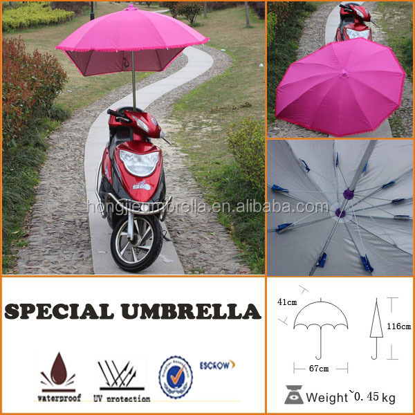 oversize cheap outdoor fixed bike umbrella