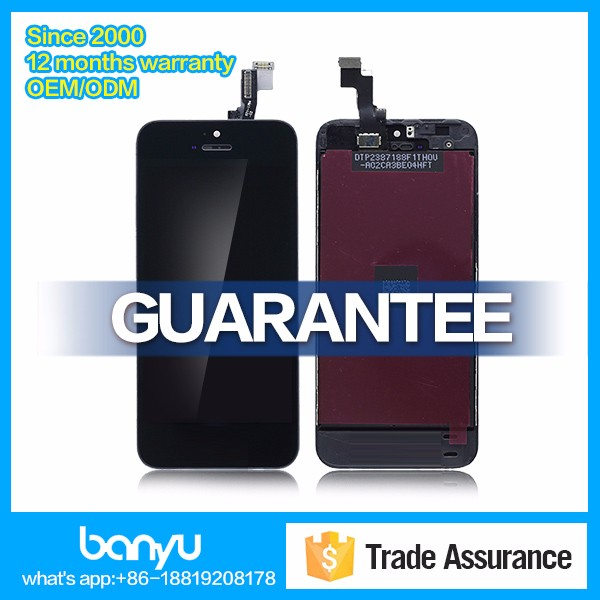 Lcd touch digitizer assembly for apple iphone 5s replacement screen with digitizer