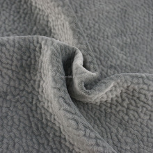 chinese supplier polyester micro cation super soft velboa plush fabric for sofa upholstery
