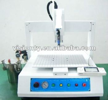 3 axis automatic glue drop machine/epoxy dispenser
