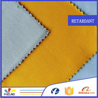 ASTM F1506 woven twill cotton fire retardant canvas fabric for bib pants