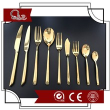 hotel cutlery used for luxury dinner party polished knife fork spoon 33pcs set