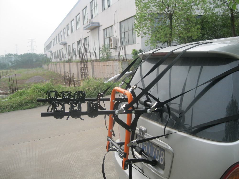 Stronger Rear Mounted 3 Bicycle Carriers