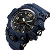 Skmei Top Cool Demin Black Analog Digital Boy Brand Wrist Watch Army Military Shockproof Watches For Men Luxury