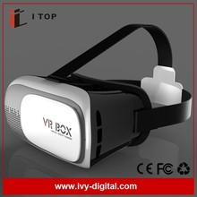 3D Glasses Virtual Video Glasses VRBOX Headset HD High Definition VR Box 2.0