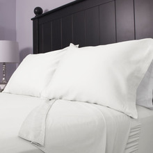 Hotel Collection White 200tc 300tc Hotel Bed sheets, Bed Flat Sheet