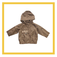 puppy cute gray trench jackets for boys