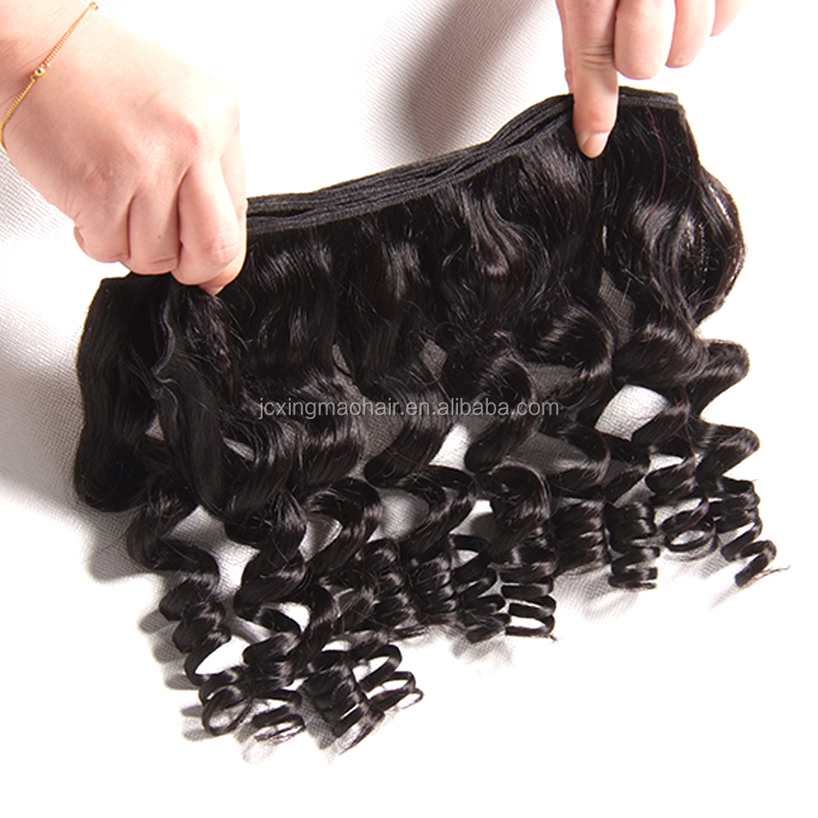 Most Popular Factory Price Wholesale Sexy Ant Curly Hair Indian Hair Fummi Human Hair