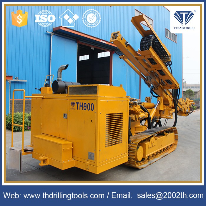 Crawler Mounted DTH Drill Rigs for hydraulic rock drill