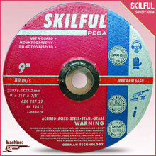 "9"" 230X6X22MM eagle grinding wheel with MPA"