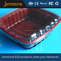PET/PVC high temperature plastic trays/plastic food container