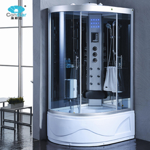 Best Selling Acrylic Indoor Steam Cabinsteam Computer Sauna Cabin Shower Room With Dry Sauna