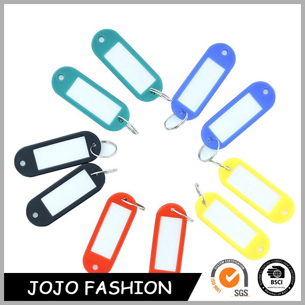 Wholesale Plastic Key Tags Keychain,New Name Tag Key Chain/