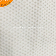 190g 82 Nylon 18 spandex stretch honeycomb mesh fabric for lingerie