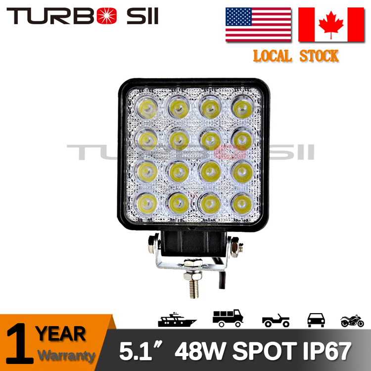 Local Delivery ! 5.1'' 48w led offroad 4x4 led driving light IP67 motorcycle 48w led work light