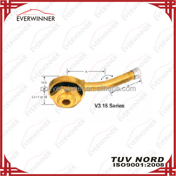 European Style Clamp-in Tubeless Valves For Trucks V3.16 Series