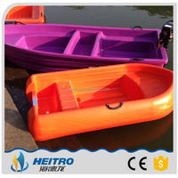 One Person Hard Plastic Fishing Boat For Sale