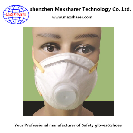 hot sale working disposable respirator dust mask face respirator dust mask