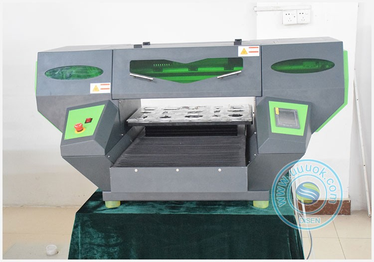 Newest DSP-GJ5028 50x38cm LED UV Flatbed Printer