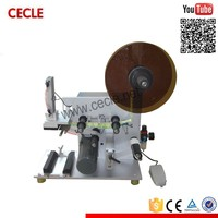 CE ISO manual juice labelling machine