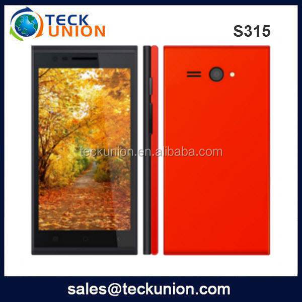 S315 MTK6572 5inch cheap big screen 3G android smart phone