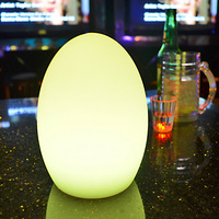 new table lamp with remote APP Mobile control RGB Color Changing battery shadeless night led desk lamp