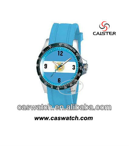 Fashion olympaic games promotion watches silicone sport watch