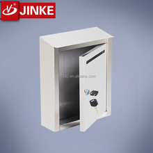 Offices Stainless Steel/Wrong Iron Mailbox Wall Mounted/Stand Lockaing Postal Mail Box Letterbox