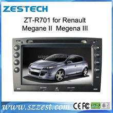 ZESTECH auto parts high performance car dvd gps for Renault Megane II Megena III car multimedia