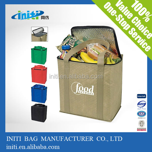 2015 Promotional Insulated disposable cooler bag For Picnic