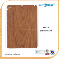 Original Natural Real Wood Grain Smart Cover Case Standing for iPad Air 5 real wood cse