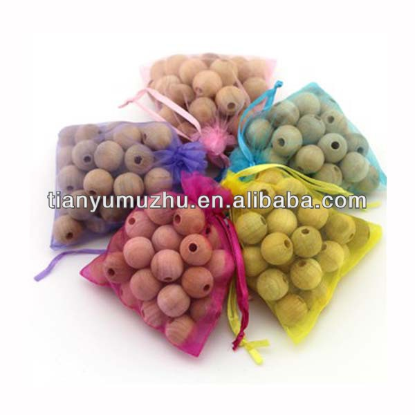 Sell wood with fragrance moth balls handmade