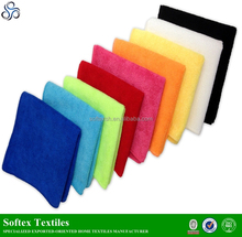 kitchen cleaning microfiber cloth/ microfiber towel stock lots for cars